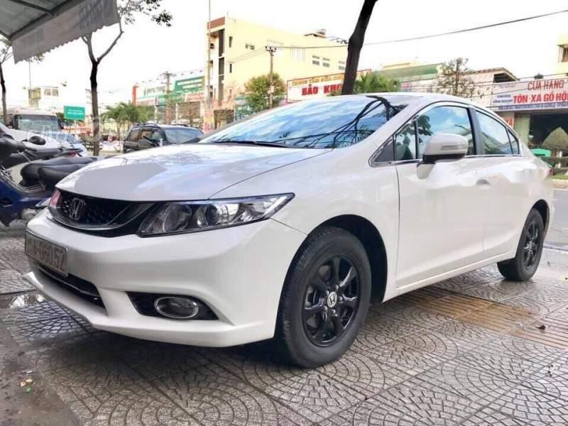 Cần bán gấp Honda Civic năm sản xuất 2014, màu trắng, nhập khẩu giá cạnh tranh-0