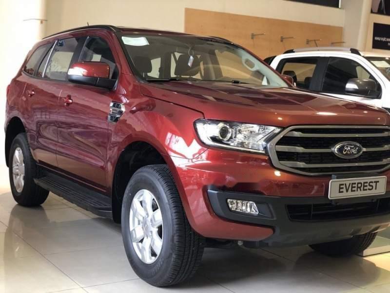 Bán ô tô Ford Everest Ambient đời 2019, màu đỏ, xe nhập, mới 100%-0