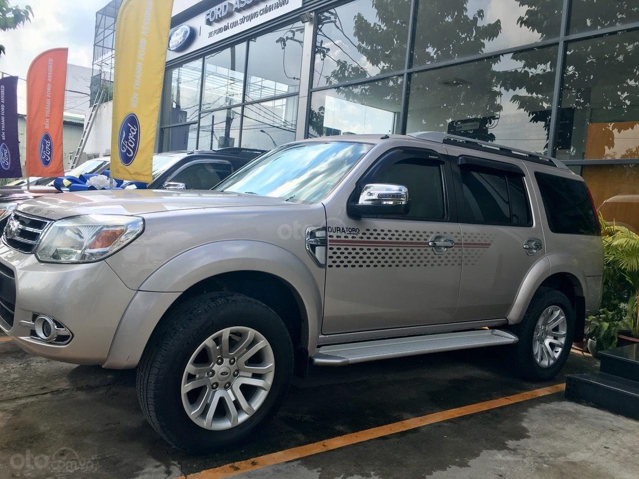 Bán Ford Everest Limited đời 2015, màu hồng giá cạnh tranh-0