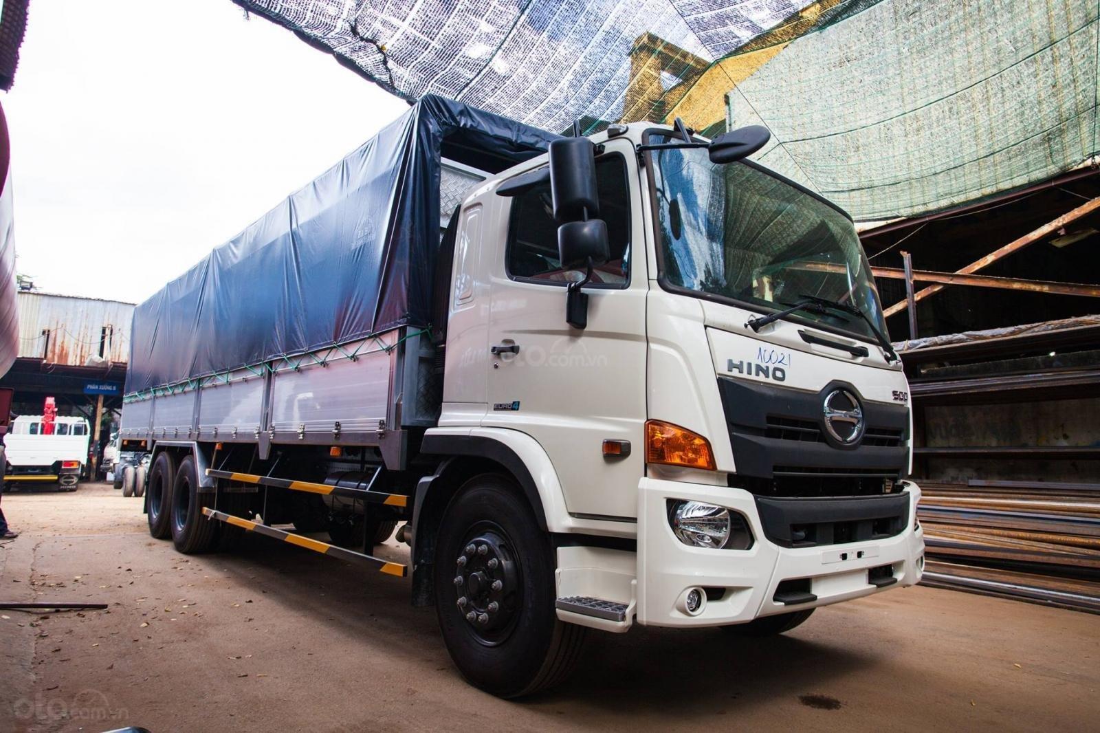 Bán xe tải Hino 2019 15 tấn thùng mui bạt 9.41m-0