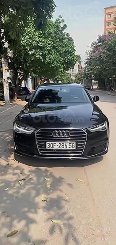 Bán Audi A6 màu đen, đời 2016, xe đẹp-1