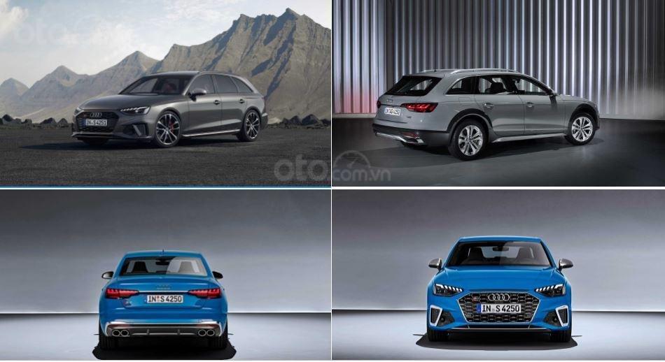 Audi A4 2020 thay đổi ngoại hình