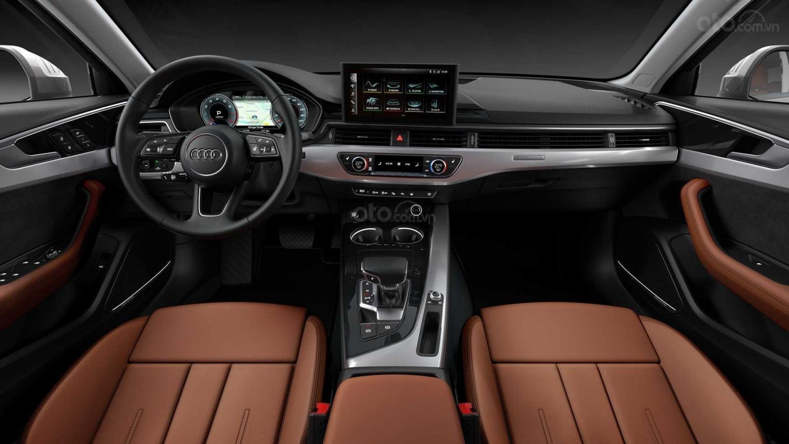 Audi A4 2020 vẫn giữ nguyên nội thất