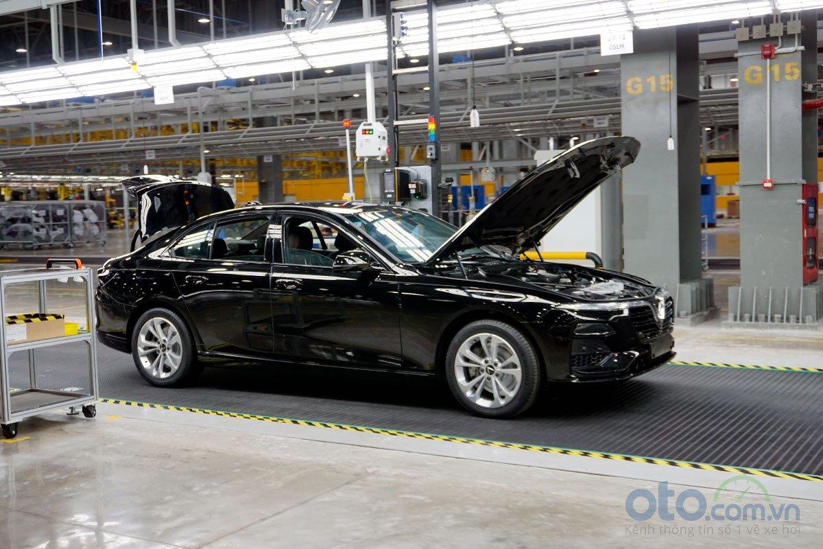 Dây chuyền chủ yếu lắp ráp 2 mẫu xe Lux SA 2.0 và Lux A 2.0 1.