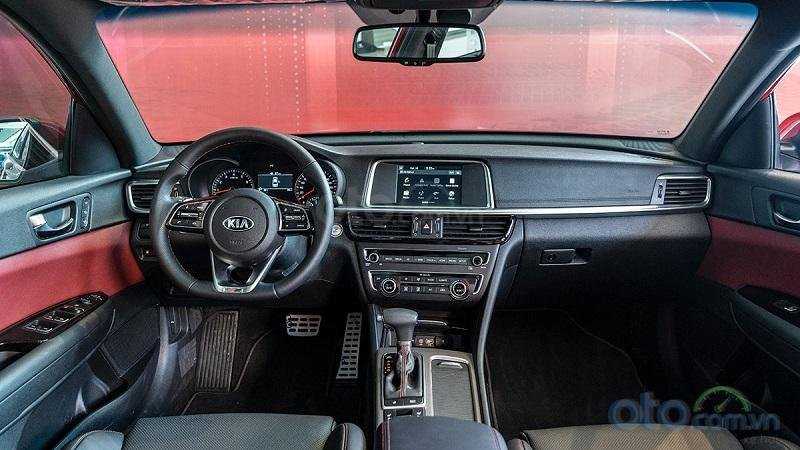 Cabin Kia Optima 2019...