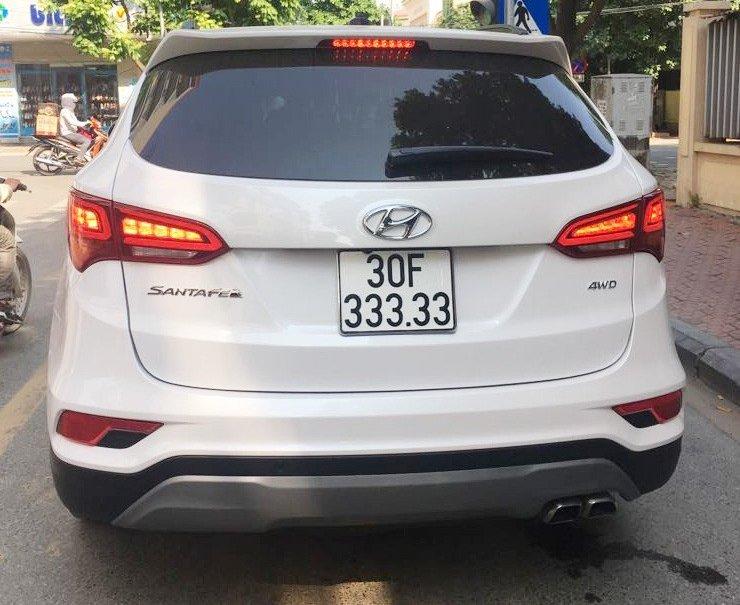 Hyundai SantaFe biển ngũ quý 3 ở Hà Nội...