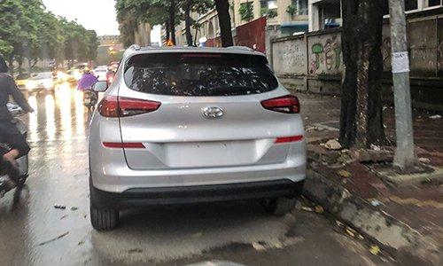 Đuôi xe Hyundai Tucson 2019 xuất hiện tại Hà Nội...