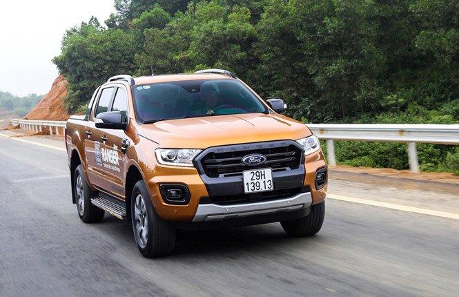 Ford Việt Nam triệu hồi Ranger vì lỗi ống dầu phanh trước a1