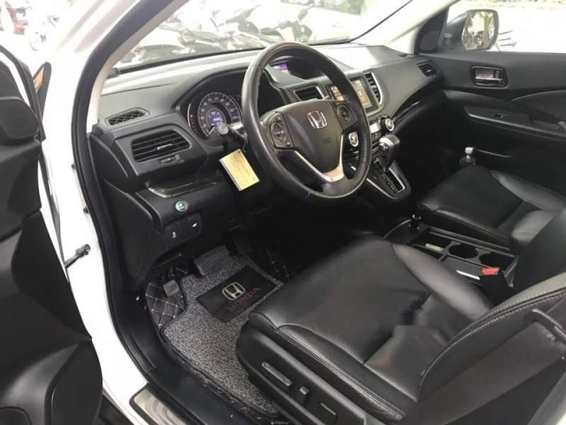 Bán Honda CRV 2.4 Sx 2015 màu trắng, tư nhân một chủ từ đầu-5