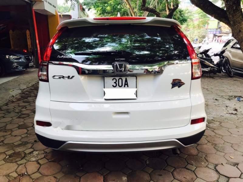 Bán Honda CRV 2.4 Sx 2015 màu trắng, tư nhân một chủ từ đầu-4