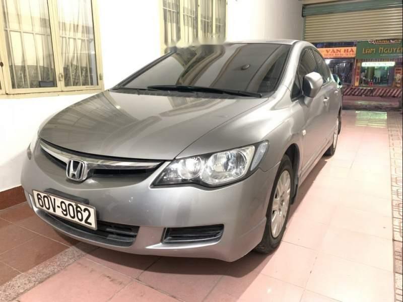 Bán chiếc Civic màu bạc đời cuối 2008, một đời chủ, odo 72000, nội thất còn mới-0