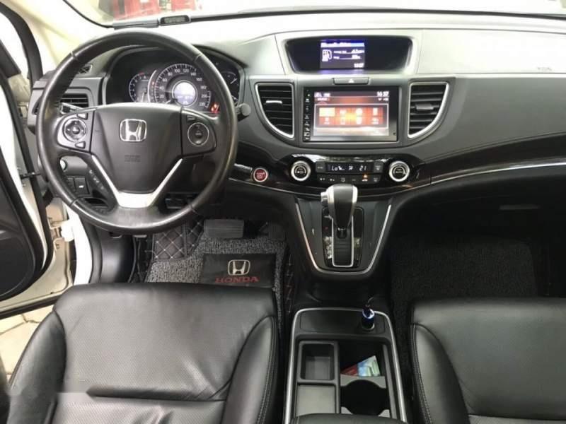 Bán Honda CRV 2.4 Sx 2015 màu trắng, tư nhân một chủ từ đầu-2
