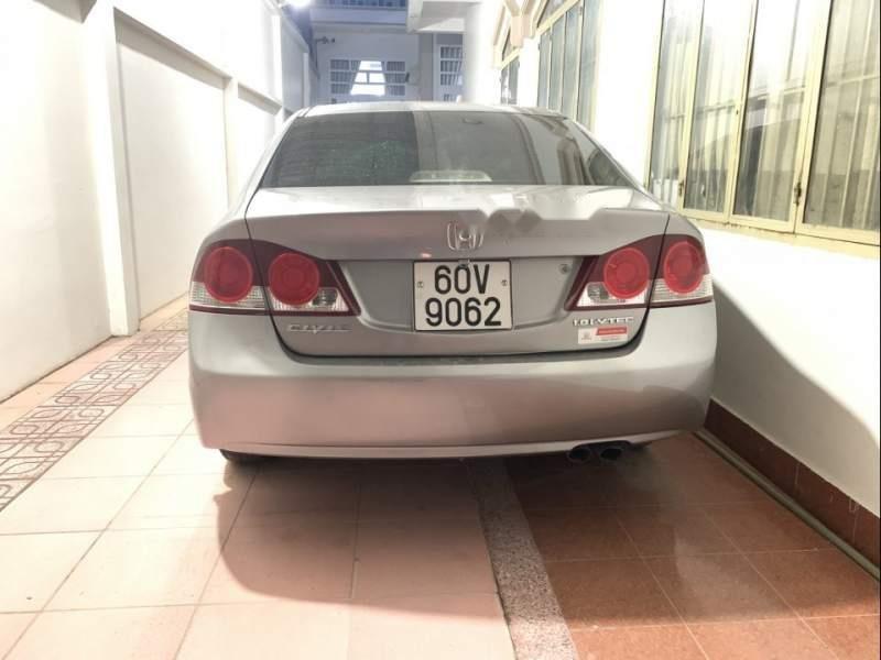 Bán chiếc Civic màu bạc đời cuối 2008, một đời chủ, odo 72000, nội thất còn mới-2