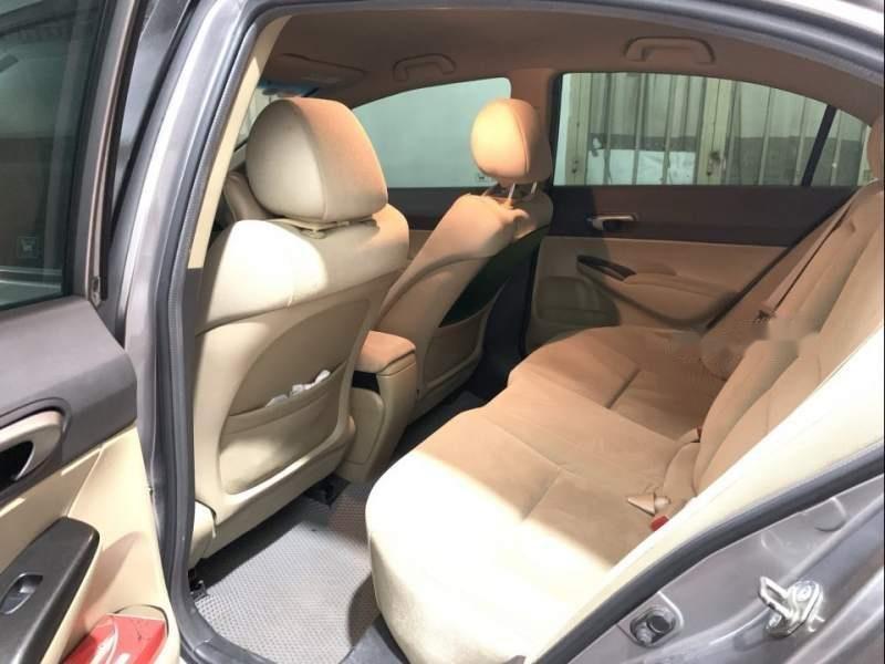 Bán chiếc Civic màu bạc đời cuối 2008, một đời chủ, odo 72000, nội thất còn mới-3