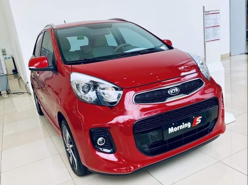 Cần bán xe Kia Morning năm sản xuất 2019, màu đỏ-0