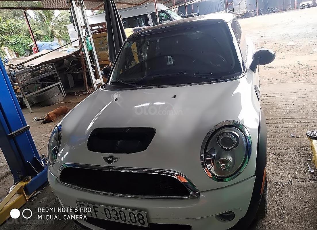 Bán Mini Cooper đời 2007, màu trắng, xe bao đẹp-4