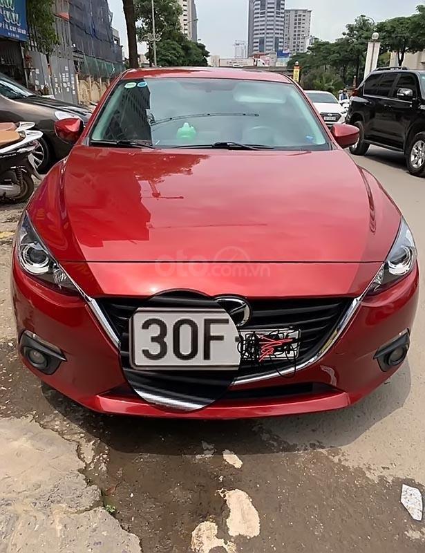 Cần bán xe Mazda 3 2016, màu đỏ xe gia đình-0