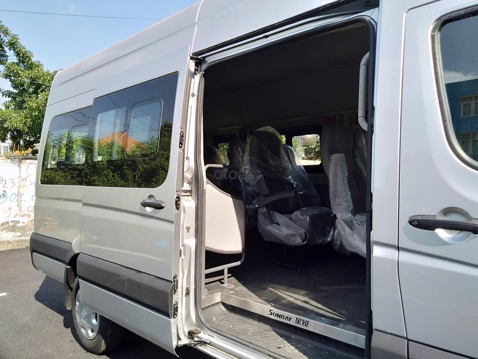Xe tải JAC du lịch 16 chỗ ngồi - xe thương mại - xe du lịch-4