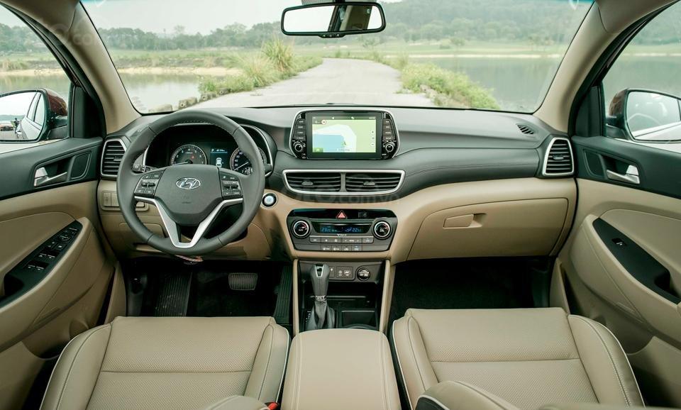 Hyundai Sơn Trà Đà Nẵng cần bán xe Hyundai Tucson new 2019, màu trắng-4