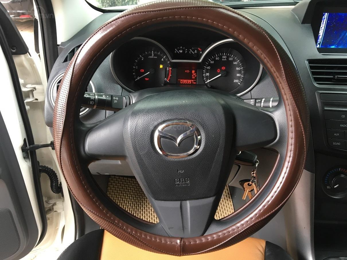 Bán xe Mazda BT 50 2.2L 4X4 MT sản xuất năm 2016, màu trắng, xe nhập-18