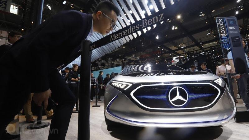 Mercedes-Benz hướng vào xe sạch