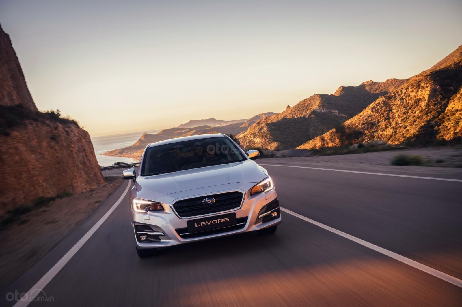 Subaru Levorg 2019 mới với gương mặt bắt mắt