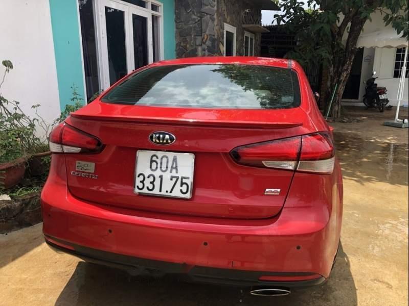 Bán Kia Cerato 2.0 sản xuất 2016, màu đỏ, giá tốt-1