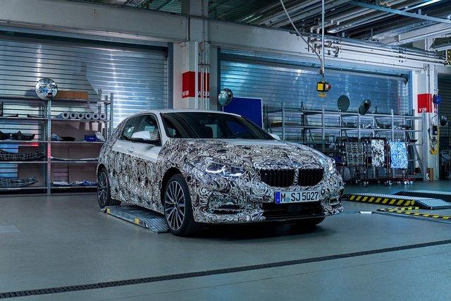 BMW 1-Series 2020 tung hình ảnh chính thức, thách thức Mercedes A-Class 3