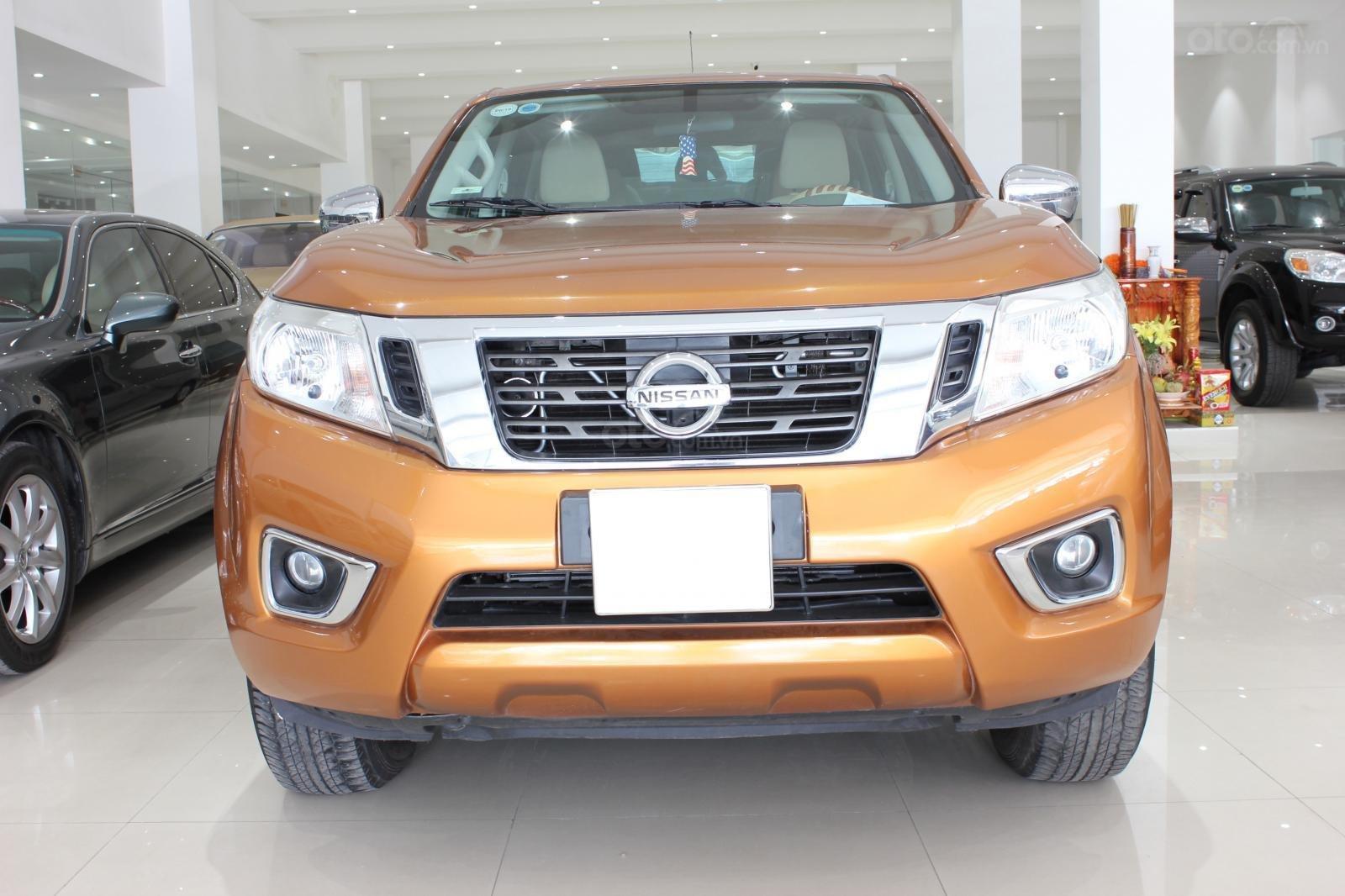 Cần bán Nissan Navara EL đời 2016, màu cam, xe nhập-0