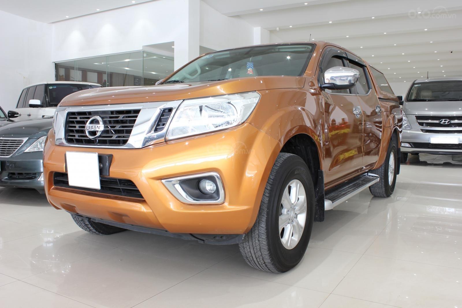Cần bán Nissan Navara EL đời 2016, màu cam, xe nhập-1