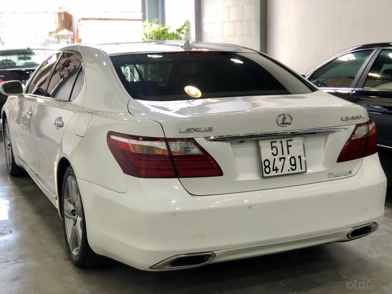 Bán Lexus LS460L model 2011, SX 2010, xe nguyễn zin, màu trắng cực đẹp, gầm bệ êm ái-9