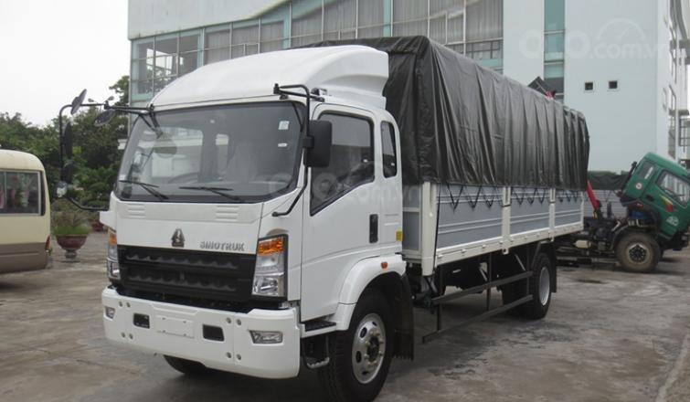 Bán xe tải 6 tấn, máy Howo Sinotruk, thùng dài 4m2 (1)