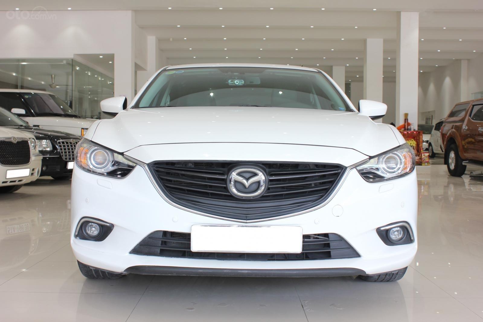 Bán ô tô Mazda 6 2.5 AT 2016, màu trắng-0