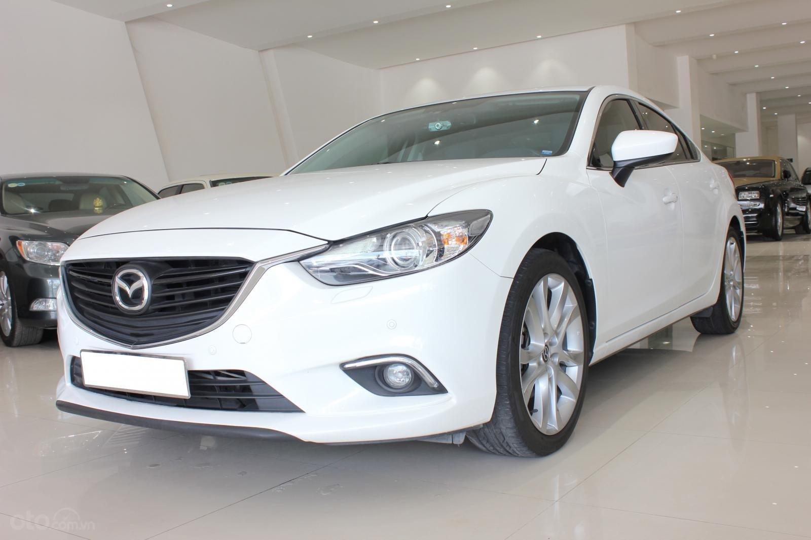 Bán ô tô Mazda 6 2.5 AT 2016, màu trắng-5
