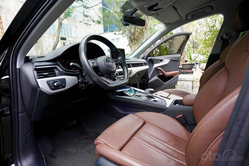 Bán Audi A4 2.0 TFSI màu đen, sản xuất 12/2017, đăng ký 10/2018, tên tư nhân chính chủ-3