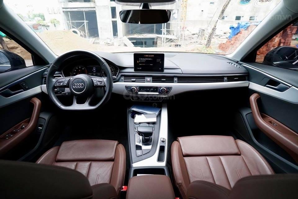 Bán Audi A4 2.0 TFSI màu đen, sản xuất 12/2017, đăng ký 10/2018, tên tư nhân chính chủ-2