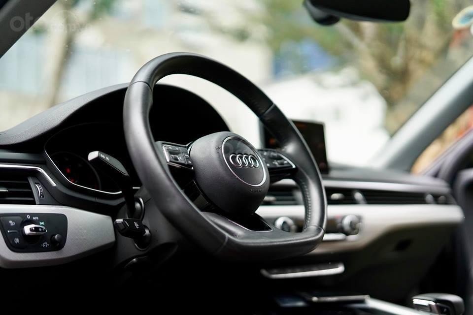 Bán Audi A4 2.0 TFSI màu đen, sản xuất 12/2017, đăng ký 10/2018, tên tư nhân chính chủ-10