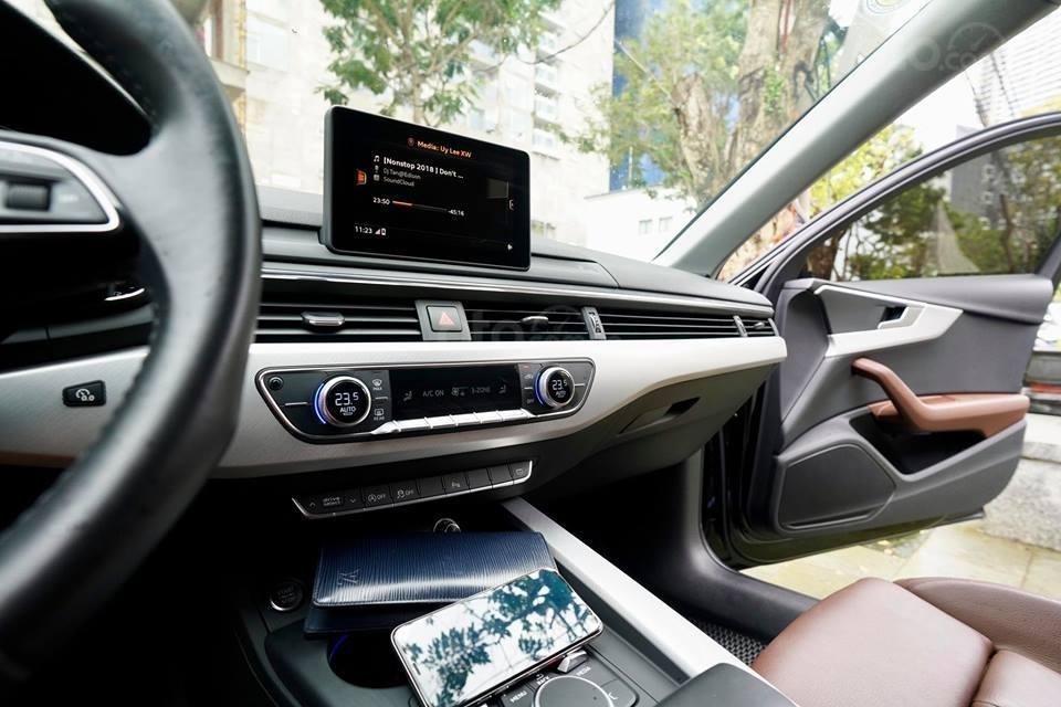 Bán Audi A4 2.0 TFSI màu đen, sản xuất 12/2017, đăng ký 10/2018, tên tư nhân chính chủ-14