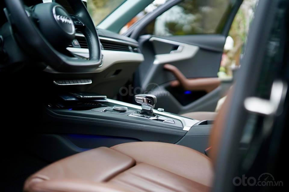 Bán Audi A4 2.0 TFSI màu đen, sản xuất 12/2017, đăng ký 10/2018, tên tư nhân chính chủ-6