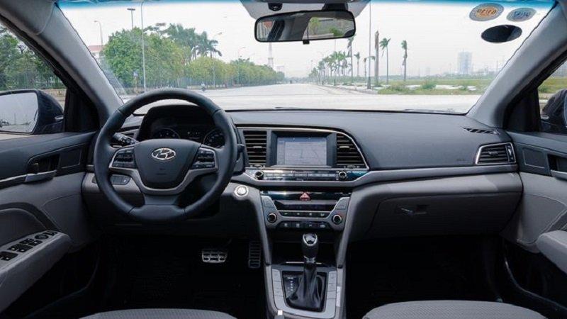 Cabin Hyundai Elantra 2018...
