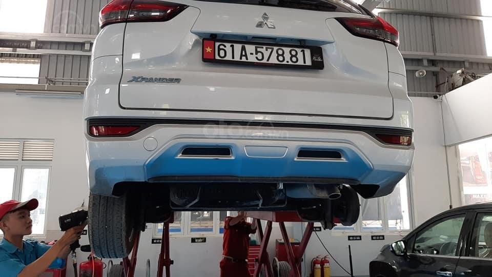 Mitsubishi Xpander lỗi chảy dầu tại VN
