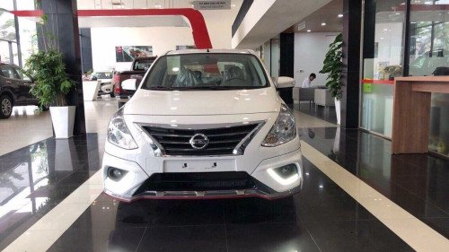 Cần bán xe Nissan Sunny 1.5 AT đời 2019, màu trắng (1)