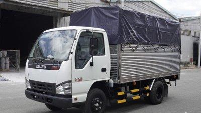Bán xe tải Isuzu 2,5 tấn thùng bạt 3m6 đời 2019-0