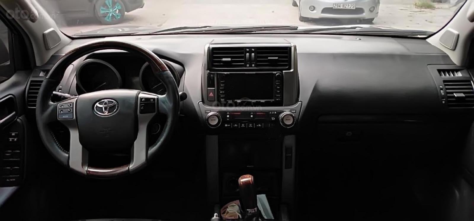 Bán Toyota Prado TXL năm 2009, màu đen, xe nhập-1
