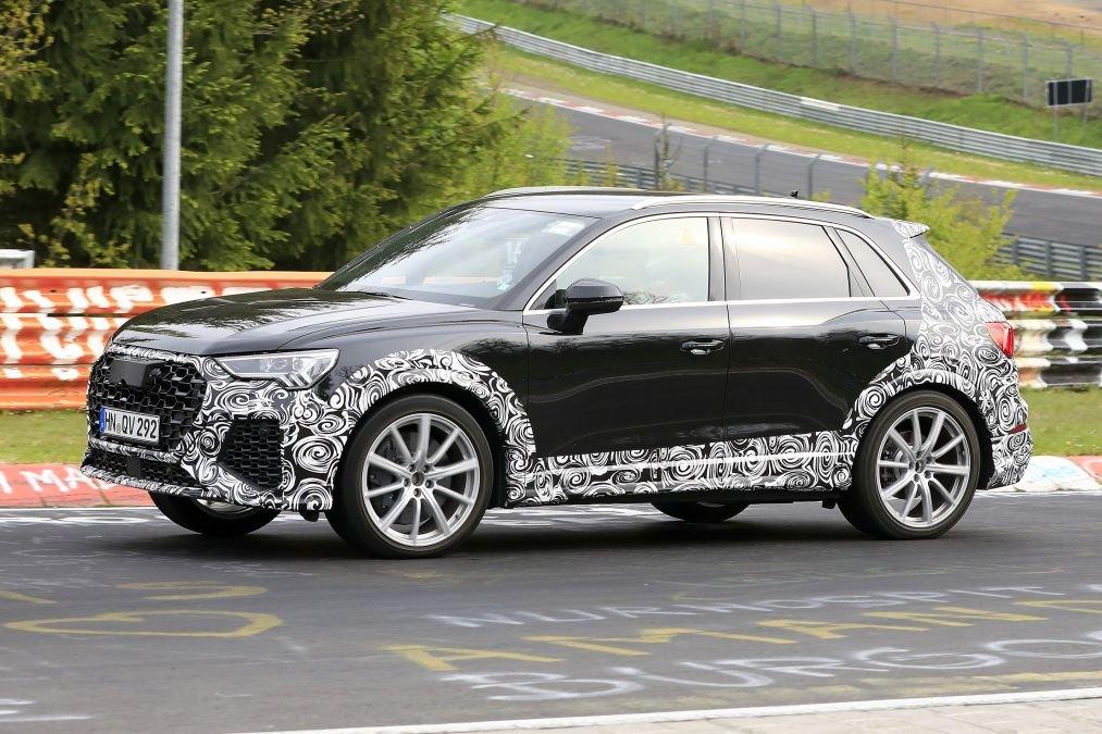 Audi RS Q3 2019 xuất hiện trên đường thử: Đậm chất thể thao, nhiều tính năng vượt trội a2