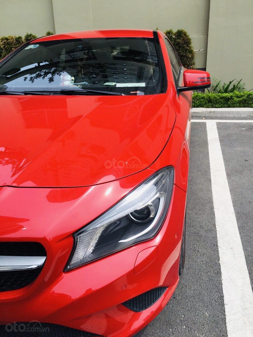 Bán CLA 200 2015 màu đỏ, xe nhập nguyên chiếc, xe đẹp đi ít, chất lượng bao kiểm tra hãng (4)