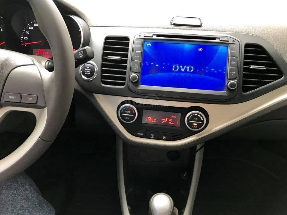 Bán xe Kia Morning Si đời 2017, số tự động, màu đỏ-3