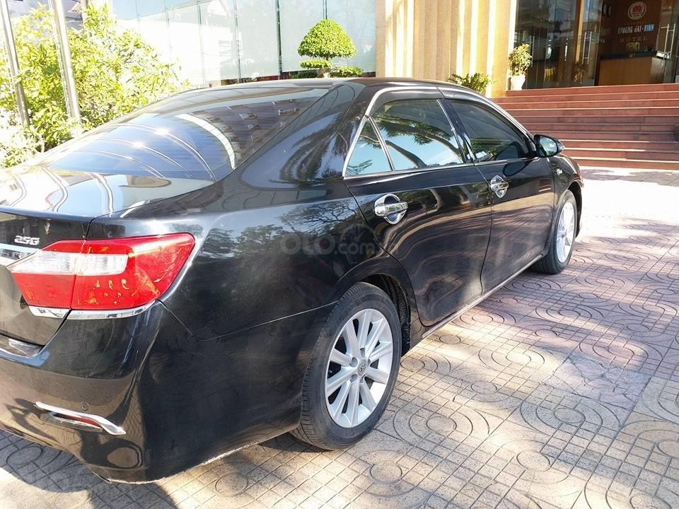 Cần bán Camry 2.5G, sản xuất 2012, số tự động, hệ thống máy mới, phom mới, màu đen-1