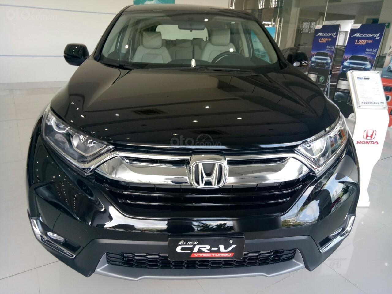Bán Honda CR-V 2019 nhập Thái, trả góp 80%, km khủng, giao liền tháng 05-1