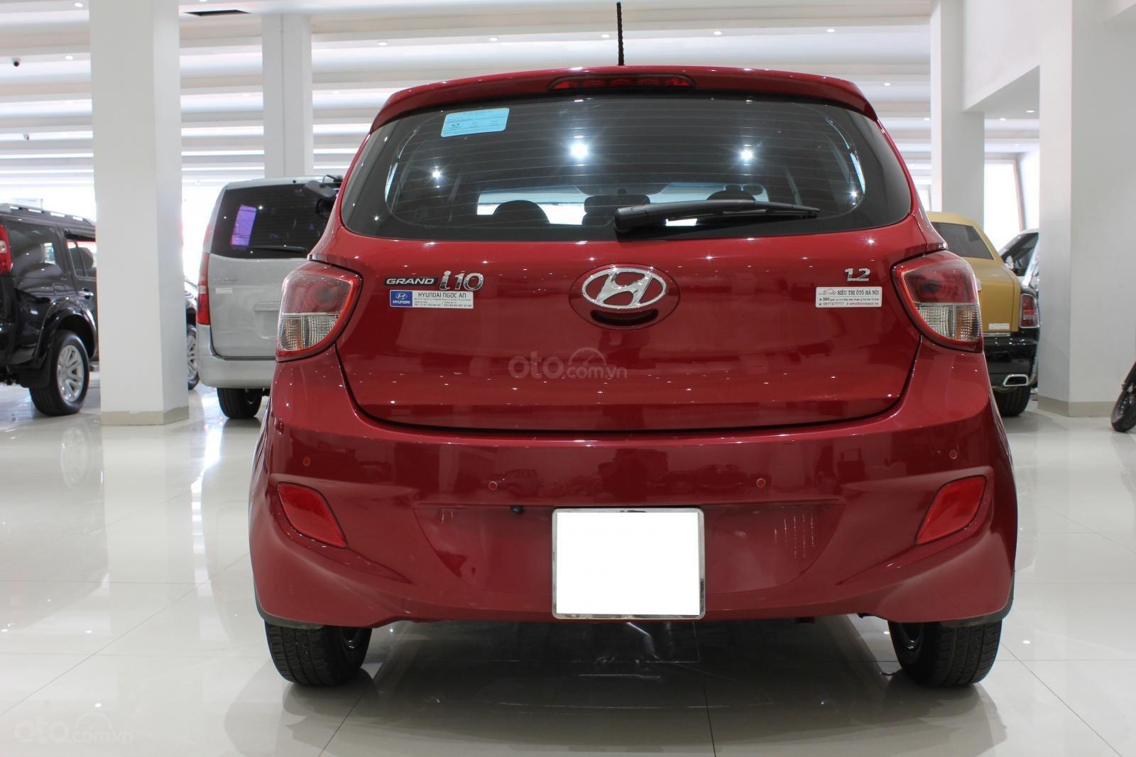 Bán xe Hyundai Grand i10 1.2 (Ấn Độ) năm sản xuất 2016, màu đỏ, nhập khẩu-2